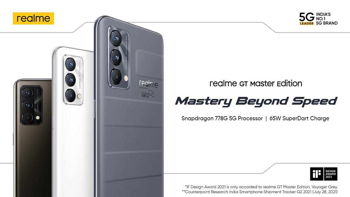realme GT Master Edition © realme