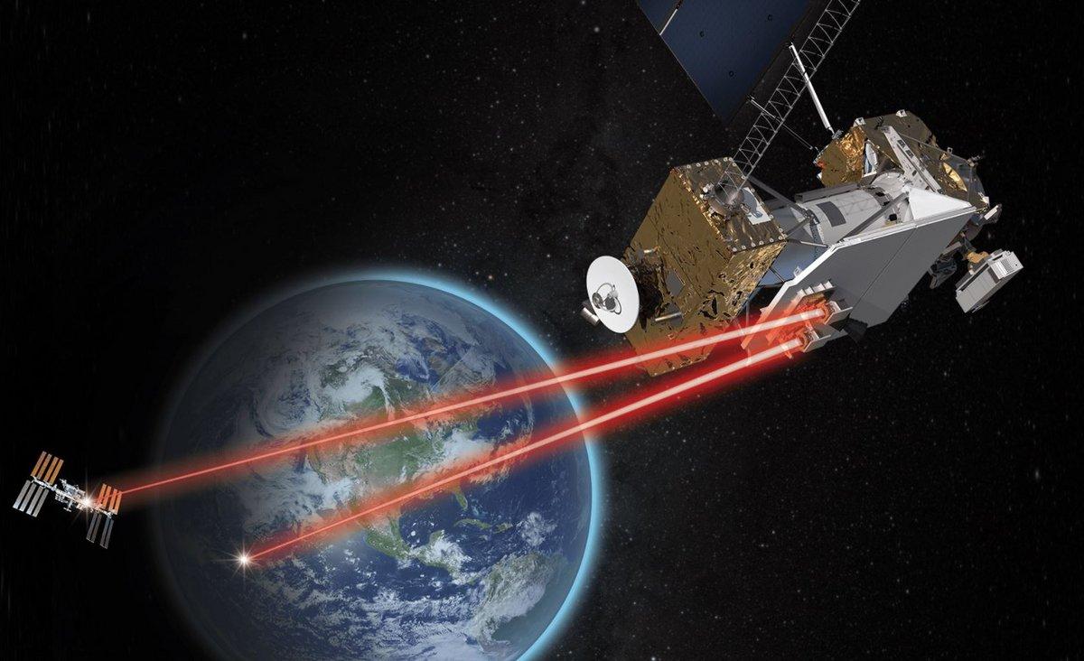 NASA Laser satellite LRCD © NASA