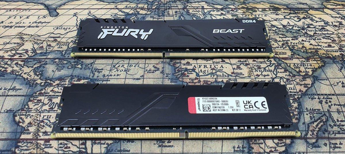Kingston FURY Beast DDR4 RGB © Nerces