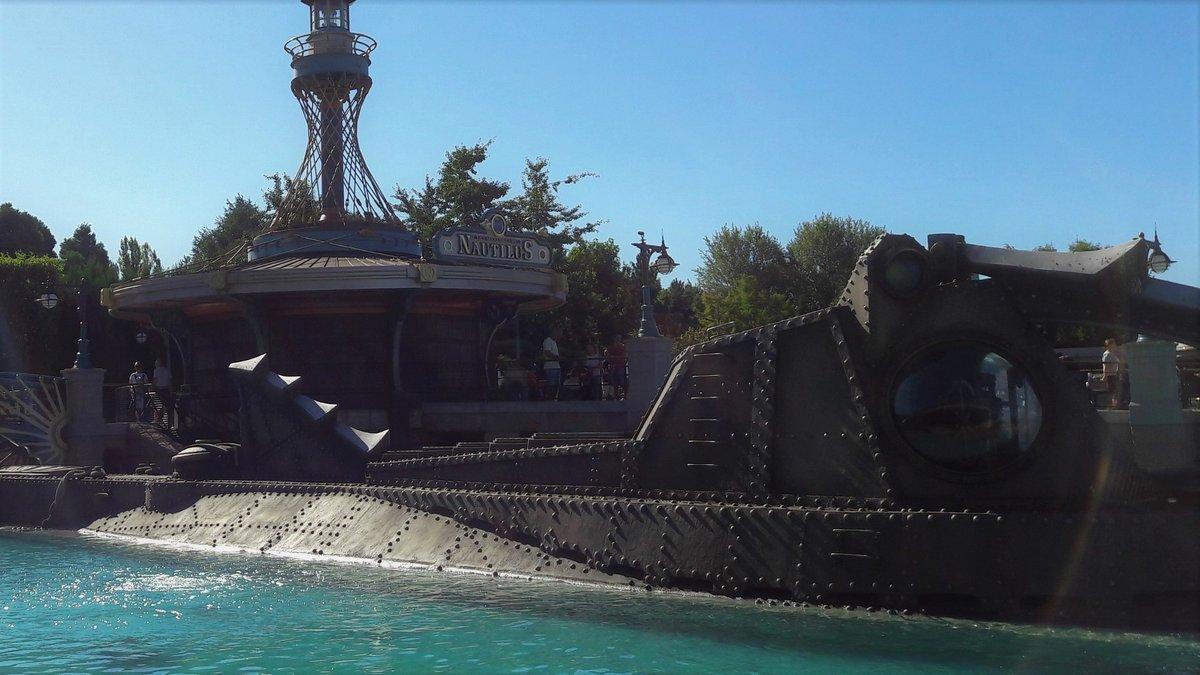 Nautilus Disneyland Paris © Alexandre Boero pour Clubic