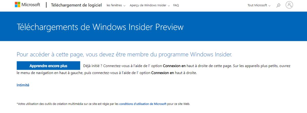 Windows 11 Insider Preview © © Microsoft