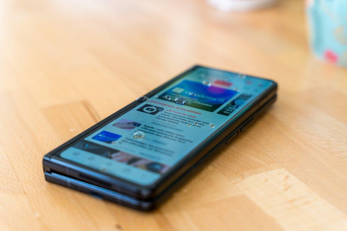 Samsung Galaxy Z Fold 3 test © © Pierre Crochart pour Clubic