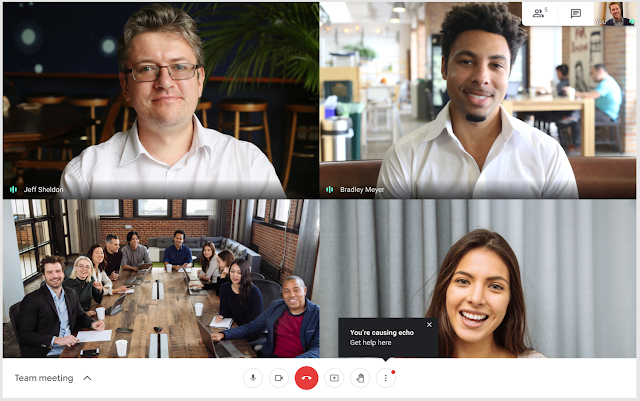 Google Meet Echo