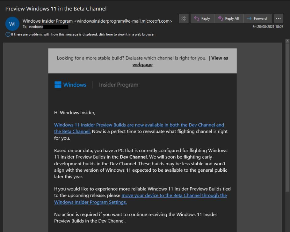 Windows 11 Insider © © Microsoft