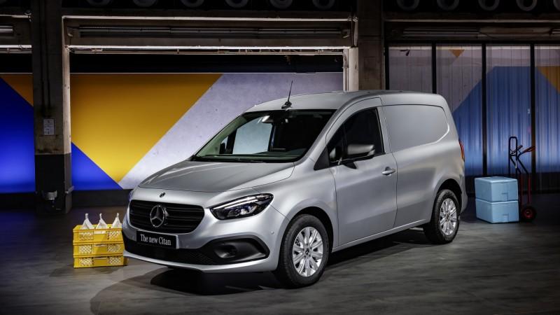 Mercedes eCitan © Mercedes-Benz