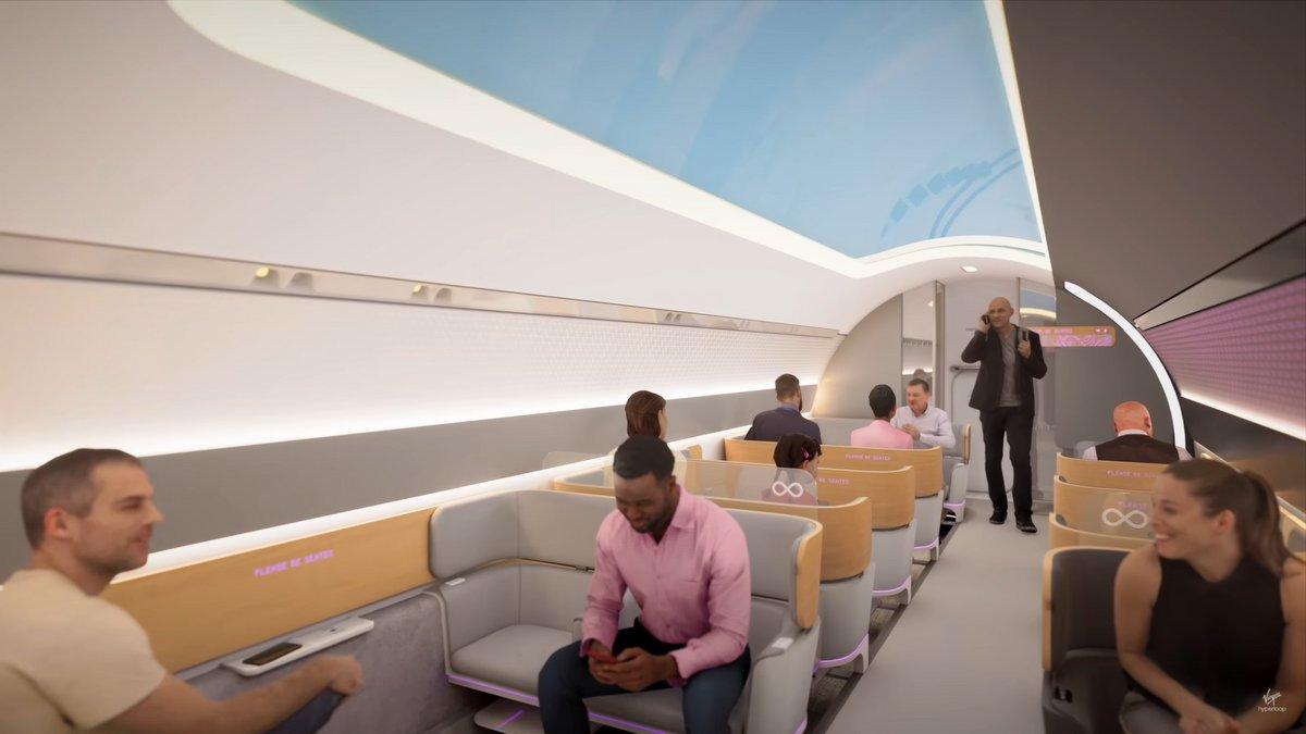 Virgin Hyperloop © Virgin Hyperloop