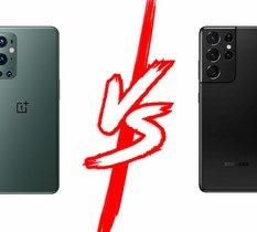OnePlus 9 Pro vs Samsung Galaxy S21 Ultra : duel au sommet