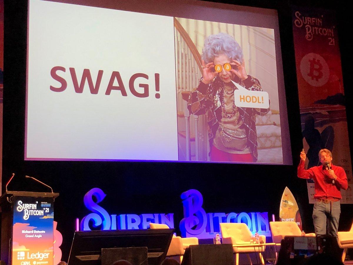 Conf mamie bitcoin