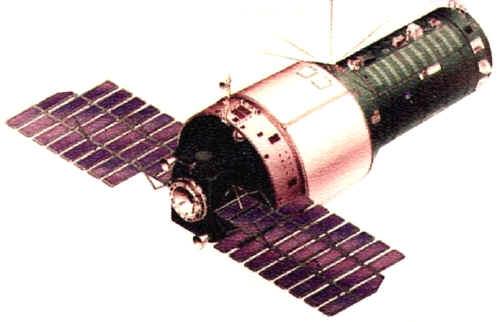Saliout-2 station spatiale soviétique © URSS via capcomespace