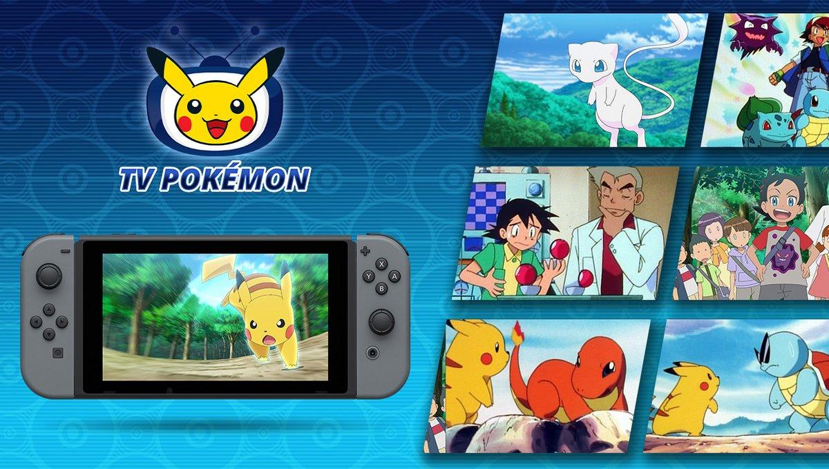 TV Pokémon app © The Pokémon Company