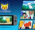 TV Pokémon, une appli gratuite permettant de regarder la série animée, est disponible sur Switch