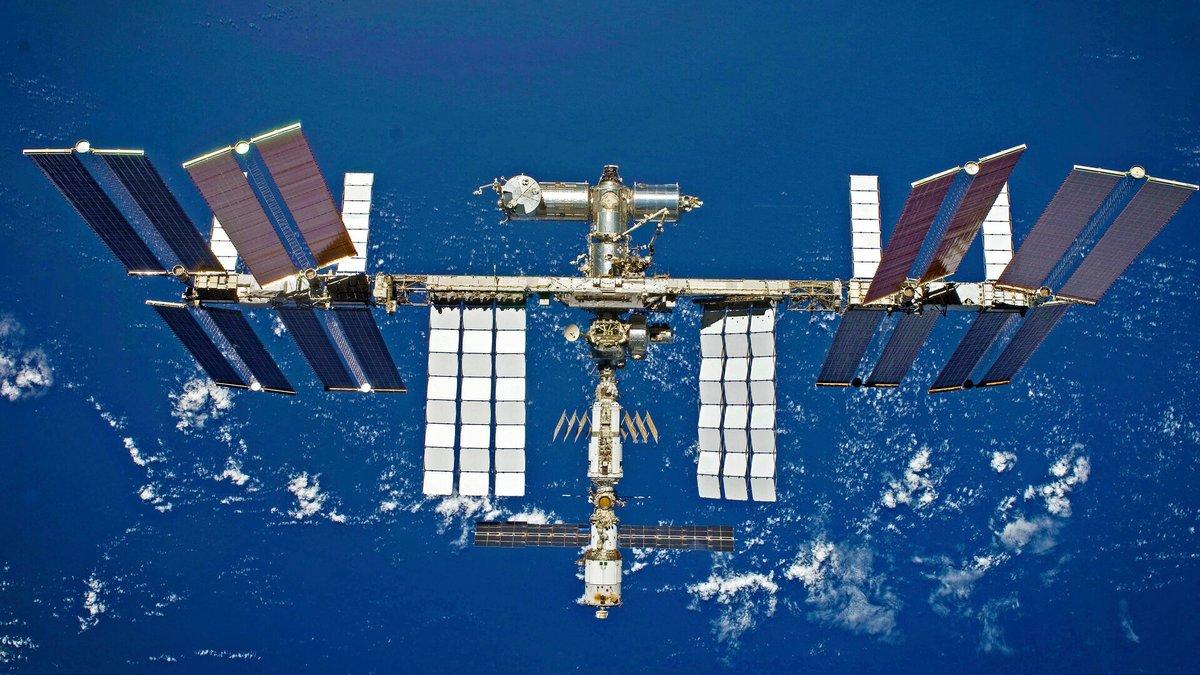 ISS station spatiale internationale © ESA