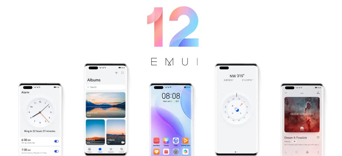 Annonce EMUI 12 Huawei © Huawei