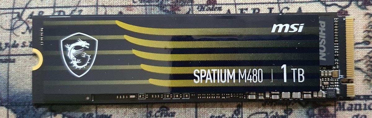 MSI Spatium M480 © MSI
