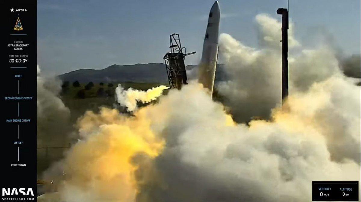 astra fusée 0006 échec © Astra Space/Nasaspaceflight