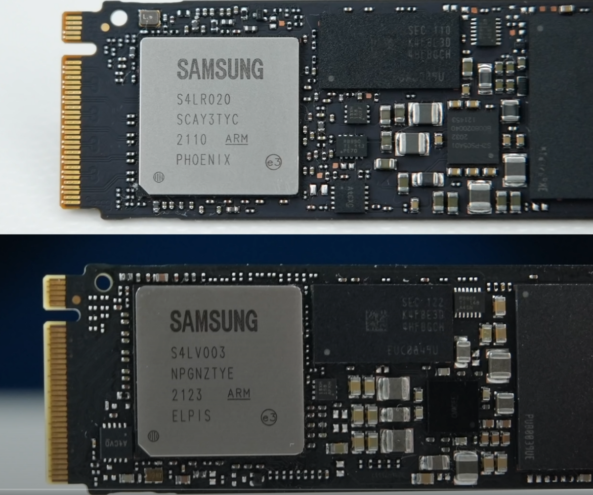 Contrôleurs SSD 970 EVO Plus © Samsung