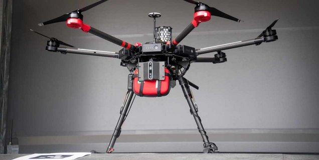 Un défibrillateur envoyé par drone, le prochain atout des urgentistes ?