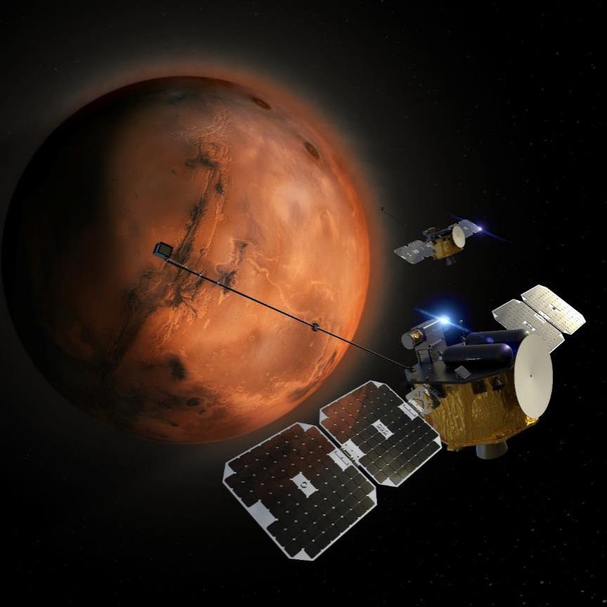 Mars ESCAPADE Mission NASA © NASA