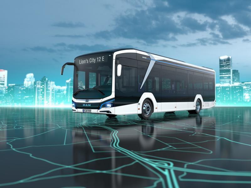 bus électrique MAN © MAN