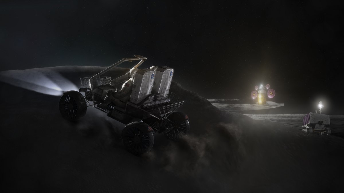 LTV NASA rover jeep buggy © NASA