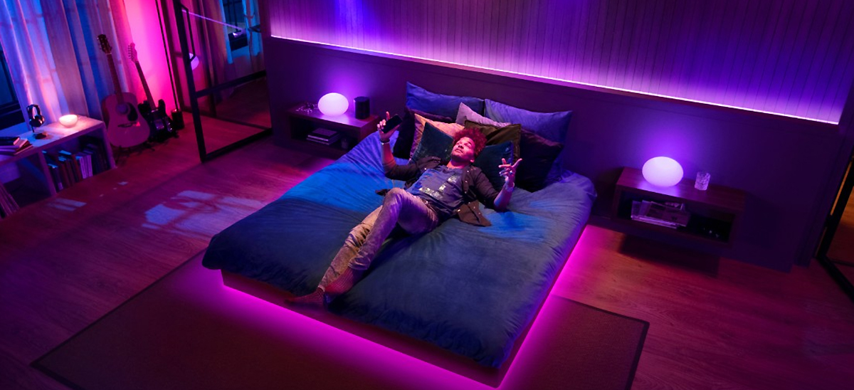 Philips Hue et Spotify © Philips