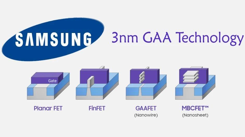 Samsung 3 nm GAAFET © Samsung