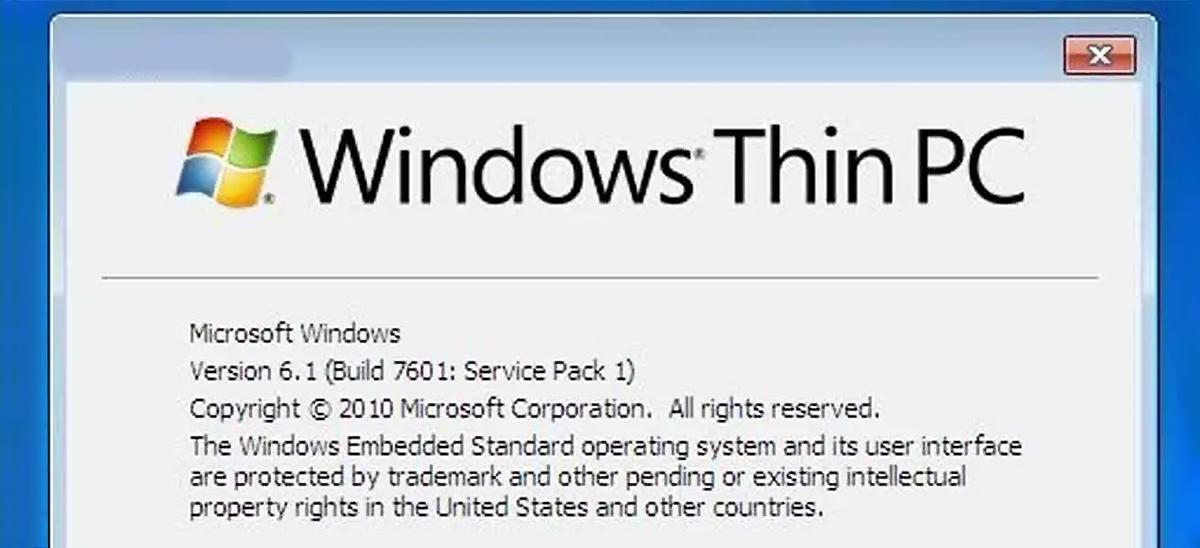 Windows Thin PC © Microsoft