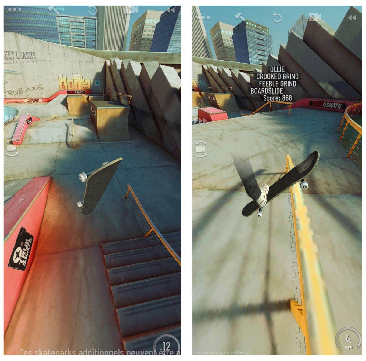 Capture d'écran True Skate (1)