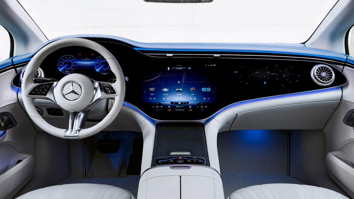 Hyperscreen Mercedes © © Mercedes