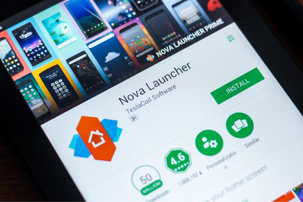 Nova Launcher © © Sharaf Maksumov / Shutterstock.com