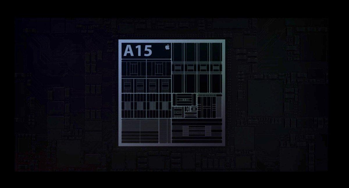 Apple A15 Bionic © © WCCFTech / Apple