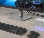 Logitech présente Logi Dock, un hub avec haut-parleur intégré pensé pour le télétravail
