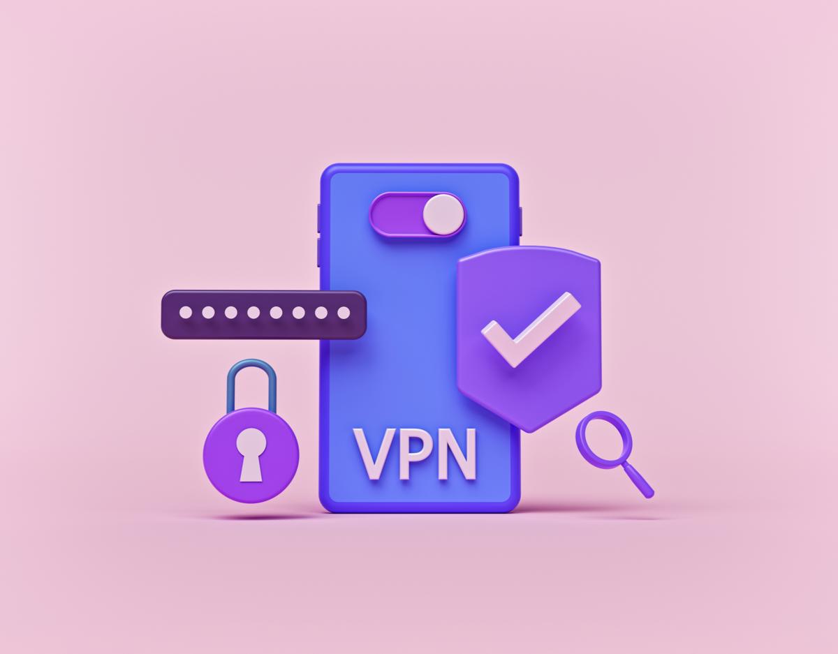 VPN smartphone © © shutterstock