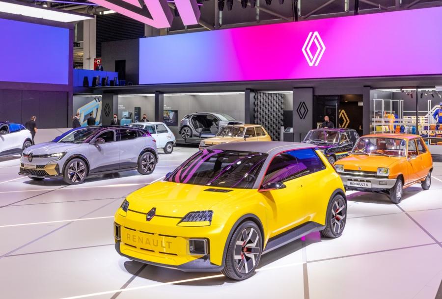 Renault 5 électrique © Renault