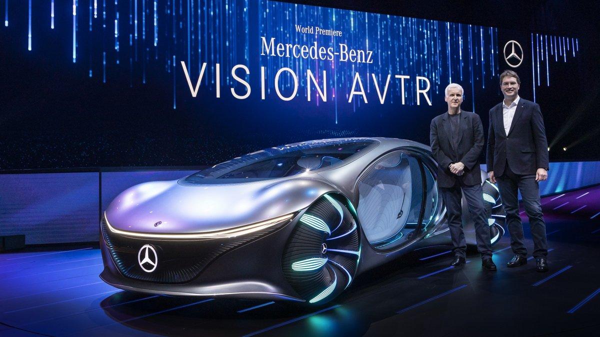 Mercedes Vision AVTR BCI © Mercedes