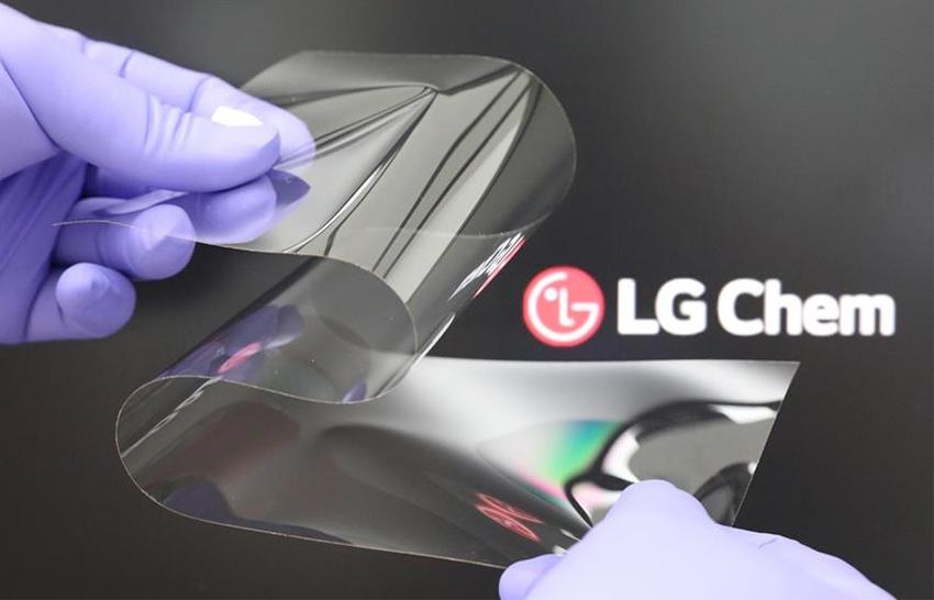 LG Real Folding Window © LG Chem