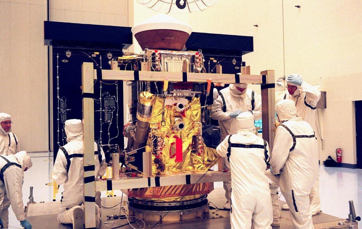 Stardust mission sonde préparation © NASA