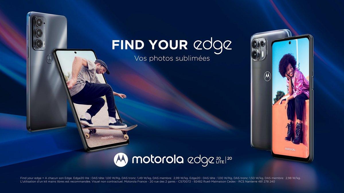 Motorola find your edge 20 © Motorola