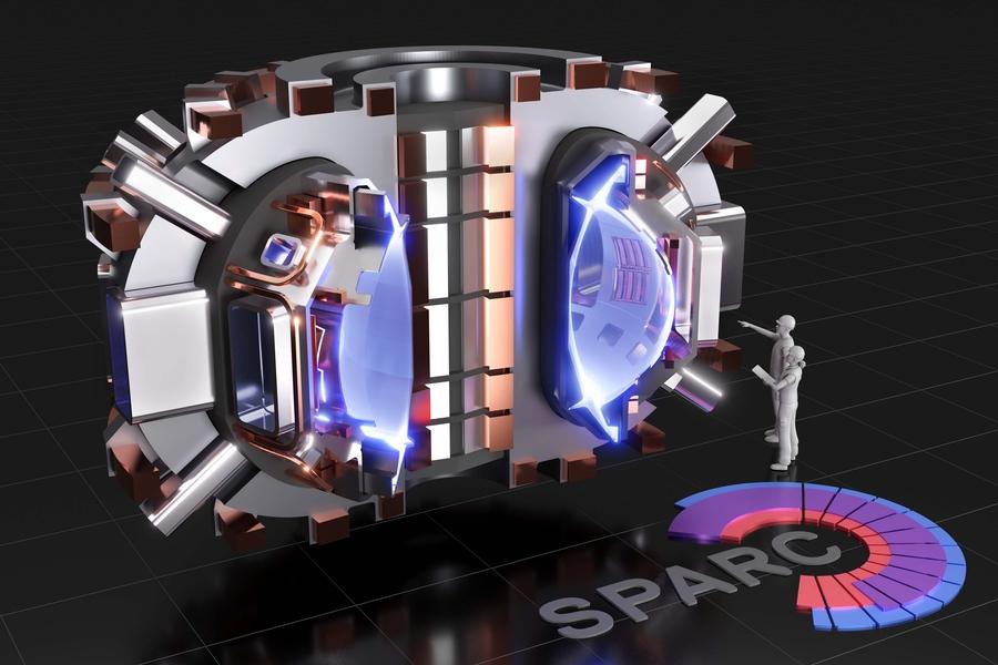 MIT magnet fusion reactor © MIT