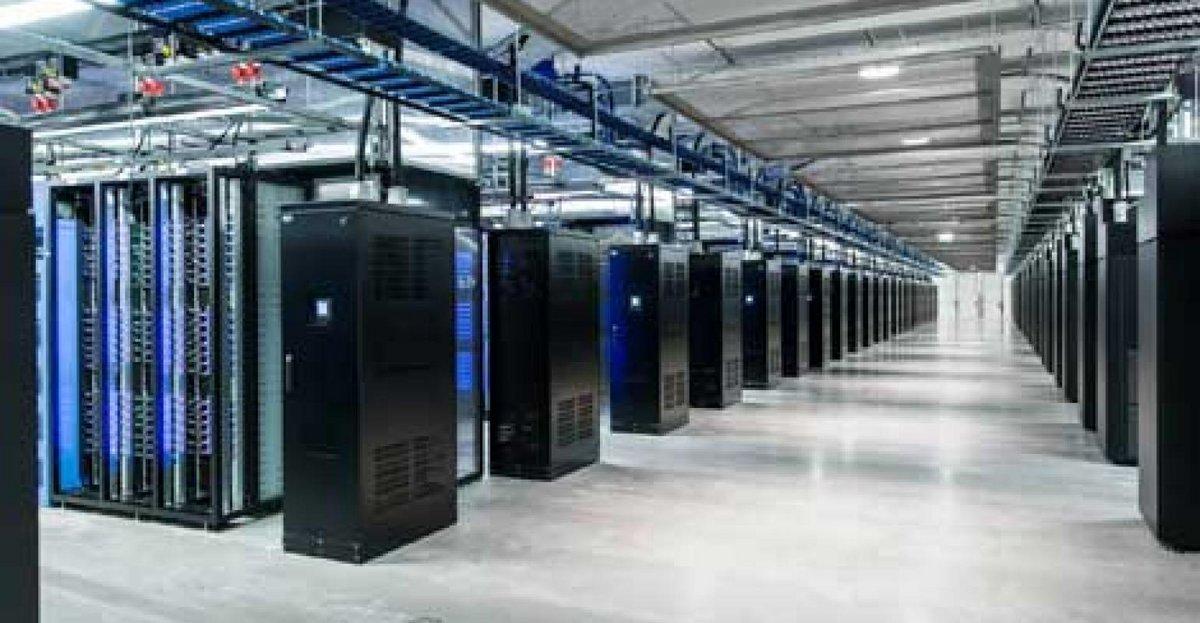 Centre de données Facebook en Suède © Facebook