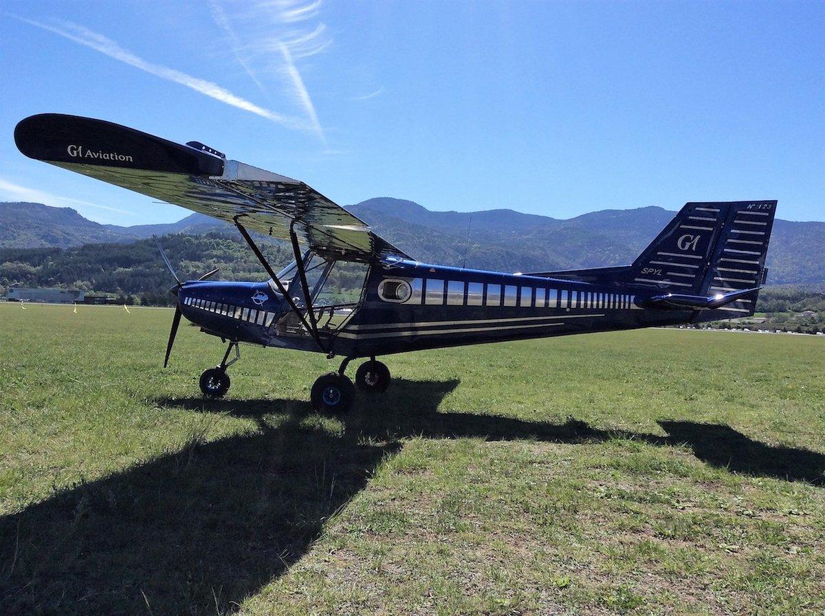 G1 Aviation ULM avion léger Beyond Aero © G1 Aviation