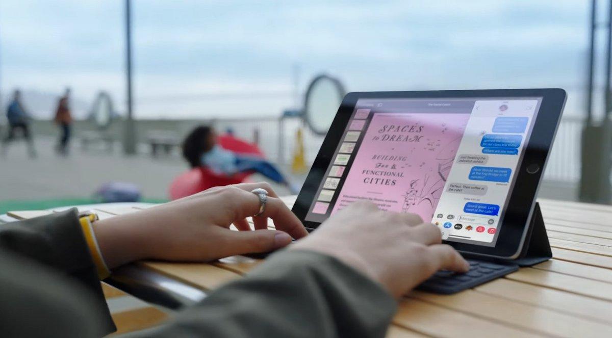 iPad 9e génération © Capture d'écran