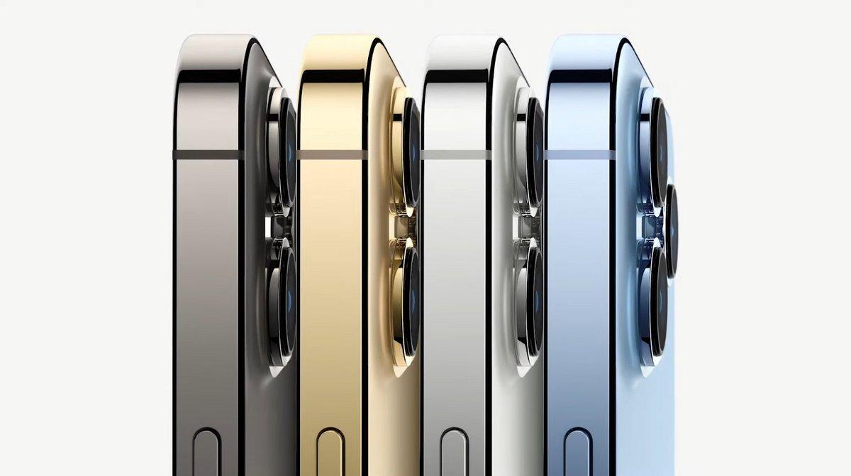 iPhone 13 Pro © Capture d'écran