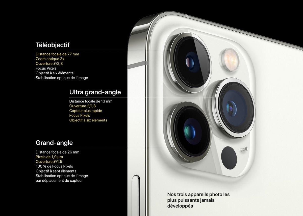 iPhone 13 Pro photo © Capture d'écran