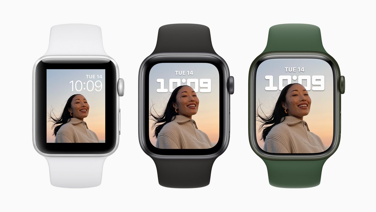Apple Watch Series 7 © Apple