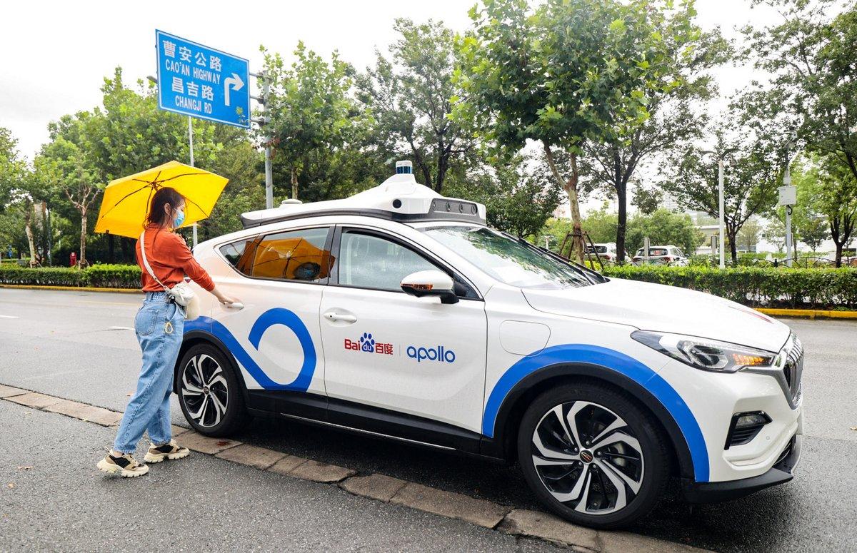 Baidu taxi robot © Baidu