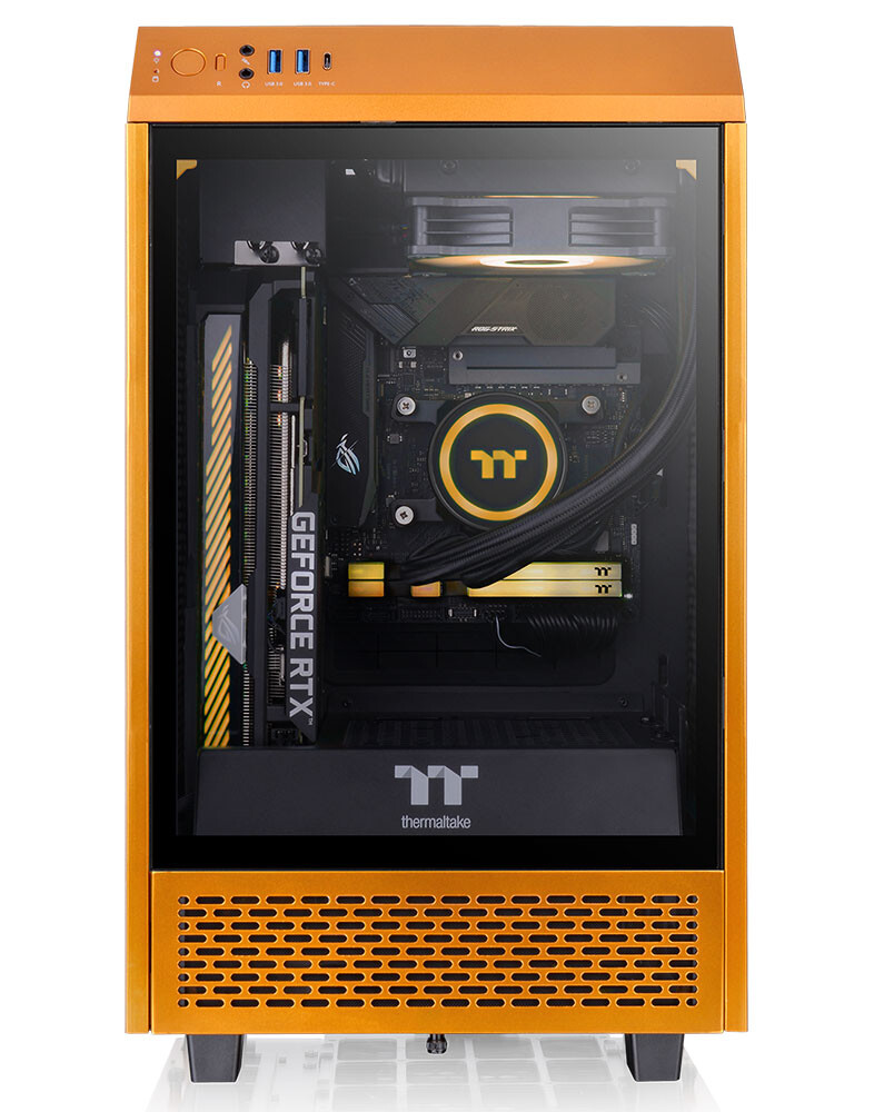 Thermaltake Tower 100 Mini Gold © Thermaltake