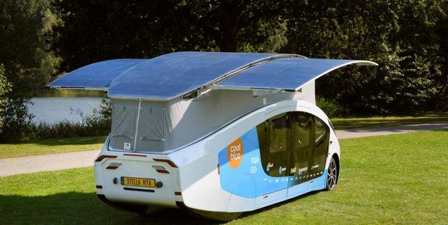 C'est un oiseau, c'est un avion ? Non, c'est un camping-car (solaire) !