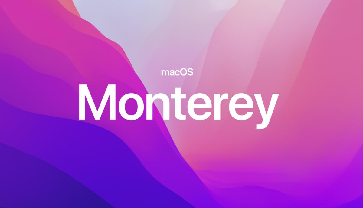 macOS Monterey © Apple