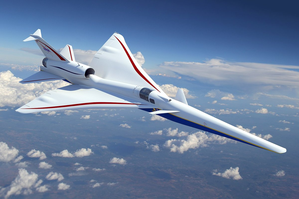 Low Boom Flight Demonstrator X-59 © NASA